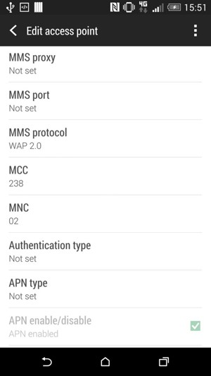 Set up MMS - HTC Desire EYE - Android 5.0 - Digicel Phone Guides