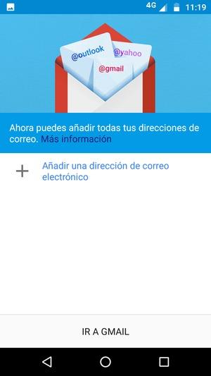 Configurar correo electrnico exchange motorola moto g5 plus seleccione aadir una direccin de correo electrnico malvernweather Choice Image