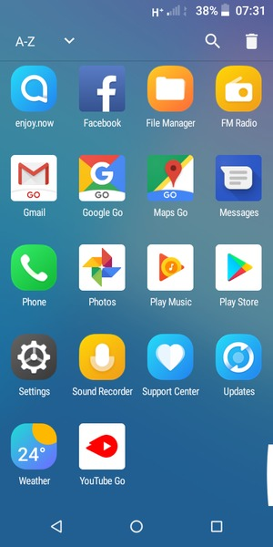 Secure phone - Alcatel 1C (2019) - Android 8 1 - Smart Guides