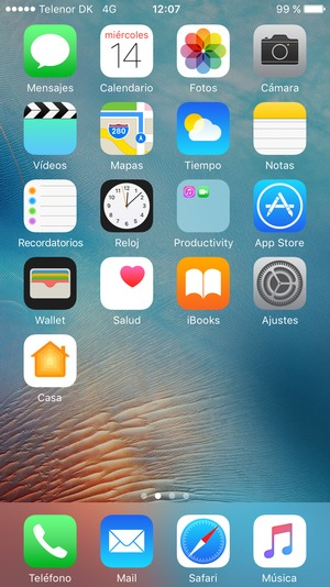 Configurar correo electrnico exchange apple iphone 6 plus ios seleccione ajustes malvernweather Choice Image