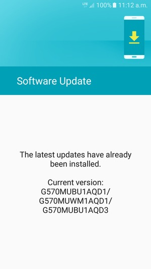 Update software - Samsung Galaxy J5 Prime - Android 6 0 - Device Guides