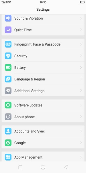 Update software - OPPO F5 Youth - Android 7 1 - Device Guides