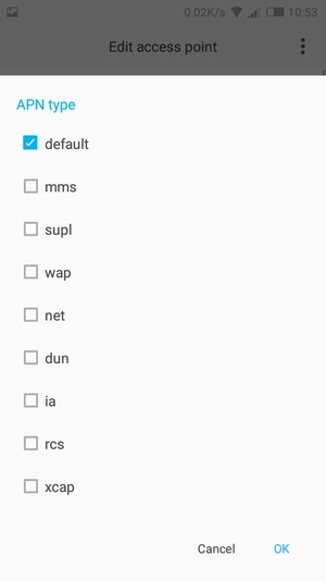 Set up Internet - Tecno W3 - Android 6 0 - Device Guides