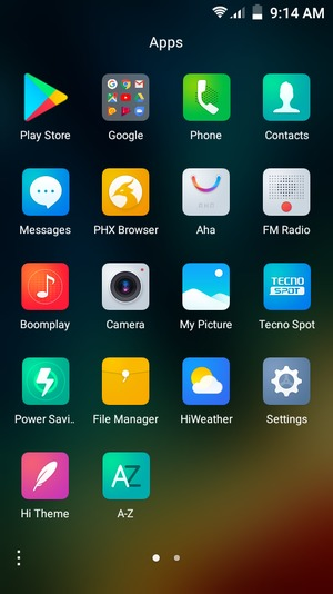 Secure phone - Tecno WX3P - Android 7 0 - Device Guides