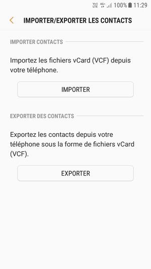 Importer Des Contacts