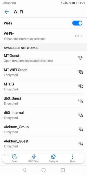 Connect to Wi-Fi - Huawei P Smart - Android 8 0 - Device Guides
