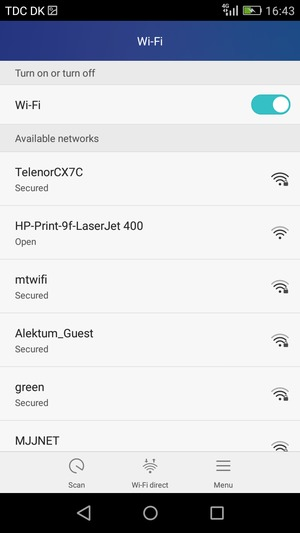Connect to Wi-Fi - Huawei Y6 - Android 5 1 - Device Guides