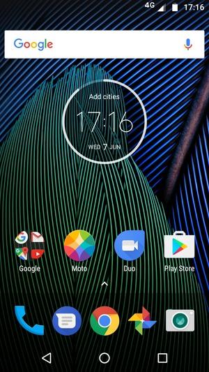 Back up phone - Motorola Moto G5 Plus - Android 7 0 - Device