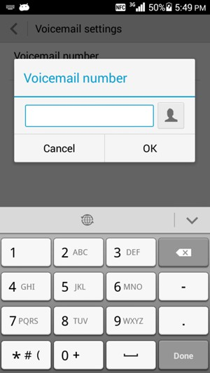 how to change your voicemail on 3