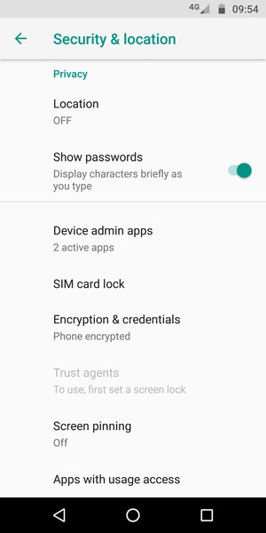 Secure phone - Motorola Moto E5 Play - Android 8 1 - Device