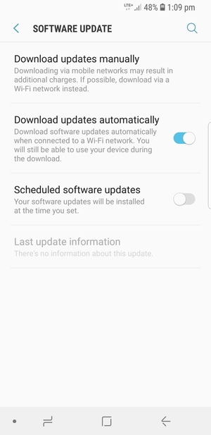 Update software - Samsung Galaxy J6 - Android 8 0 - Device