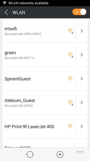 Connect to Wi-Fi - BLU Vivo Air - Android 4 4 - Device Guides
