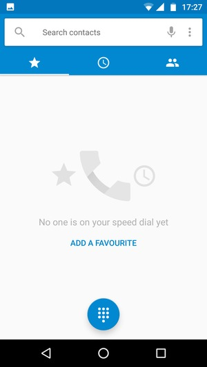 Access voicemail - Motorola Moto G5 Plus - Android 7 0