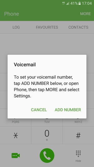 How to reset voicemail password on galaxy s7 edge