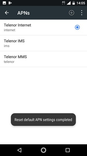 Set up Internet - Nokia 2 - Android 7 1 - Device Guides