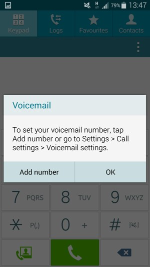 Access voicemail - Samsung Galaxy A5 - Android 4 4 - Device