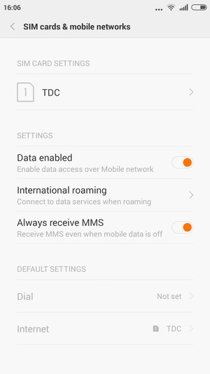 Switch between 3G/4G - Xiaomi Redmi - Android 4 4 - Device