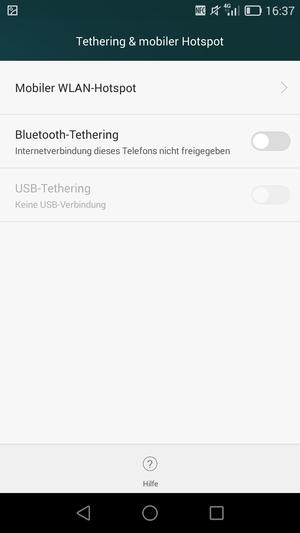 verwendung des handys als modem huawei ascend g7 android 4 4 device guides. Black Bedroom Furniture Sets. Home Design Ideas