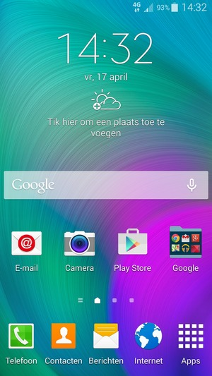Verbinding Met Wifi Maken Samsung Galaxy A7 Android 44