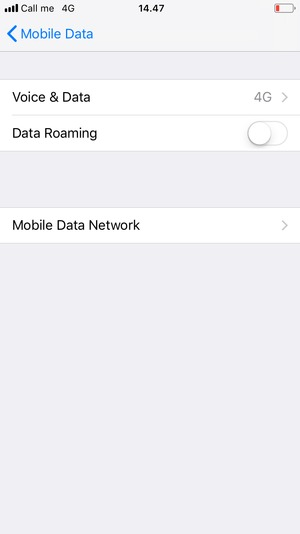 Select Mobile Data Network