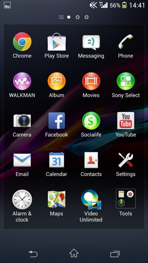 Import contacts - Sony Xperia Z1 Compact - Android 4 4