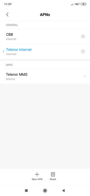 Your phone has now been set up to MMS