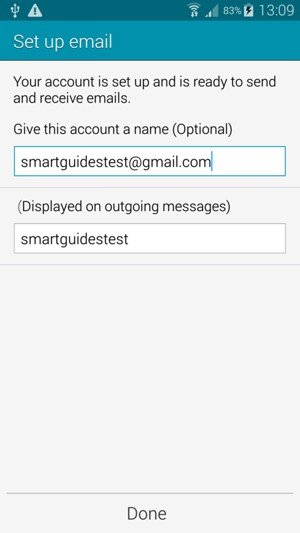 setting up hotmail on samsung galaxy s5