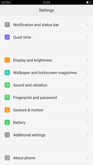 Secure phone - OPPO F1 Plus - Android 5 1 - Device Guides