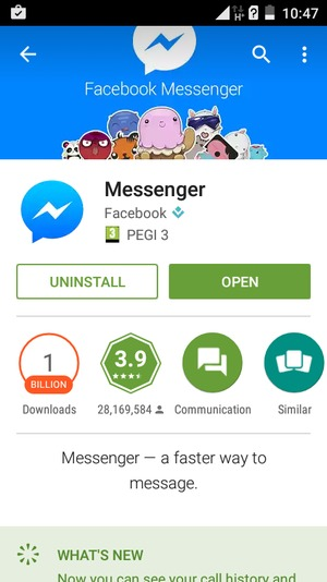 MESSENGER LITE APKMONK - Install apps - Itel IT1508