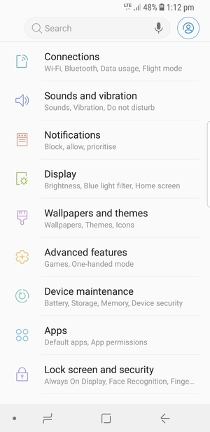 Set up MMS - Samsung Galaxy S9 - Android 8 0 - Device Guides