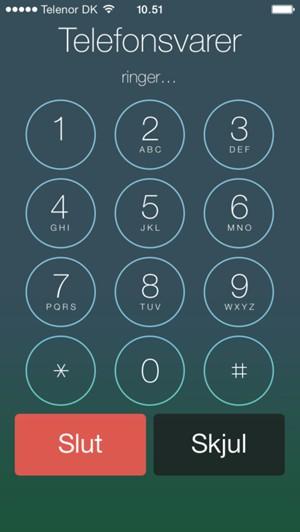 skift skærm på iphone 5s