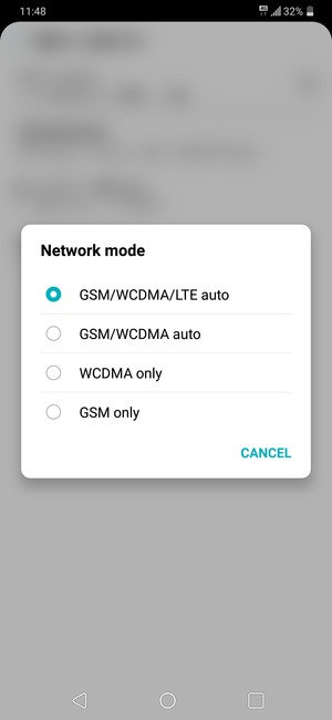 Switch between 3G/4G - LG G7 ThinQ - Android 8 0 - Device Guides