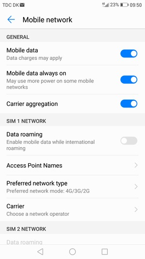 Set up Internet - Huawei Mate 9 - Android 7 0 - Device Guides