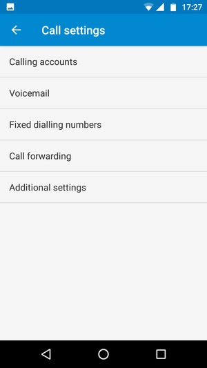 Access voicemail motorola moto g5 plus android 70 device guides select voicemail m4hsunfo