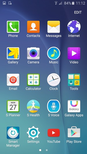 Set up Internet - Samsung Galaxy J7 - Android 5 1 - Device