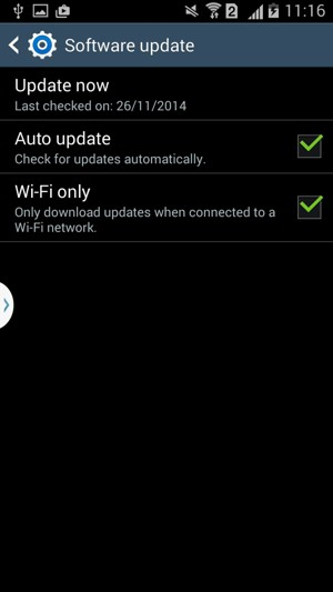 Update software - Samsung Galaxy Grand 2 Duos - Android 4 4
