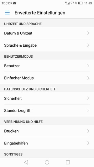 Sichern Von Handy Huawei Mate 9 Android 70 Device Guides