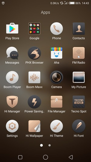 Set up Internet - Tecno Phantom 6 - Android 6 0 - Device Guides