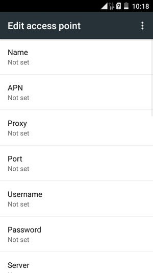 Set up Internet - Itel IT1508 - Android 5 1 - Device Guides