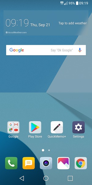 Set up Internet - LG Q6 - Android 7 1 - Device Guides