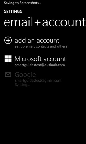 Your contacts from Google will now be synced to your Lumia