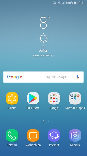 Aktualisieren Der Software Samsung Galaxy J3 2017 Android 7 0 Device Guides