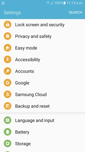 Import contacts - Samsung Galaxy J5 Prime - Android 6 0
