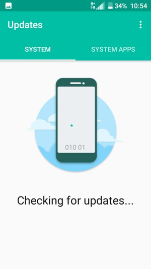 Update software - Alcatel U5 3G - Android 7 0 - Device Guides