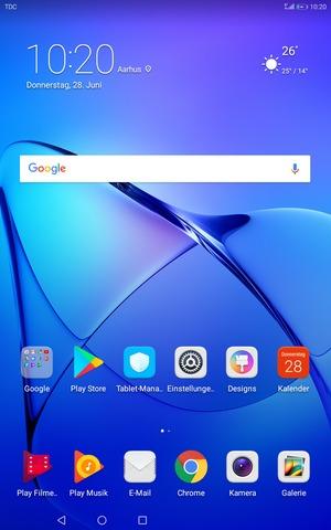Einrichten Von Internet Huawei Mediapad T3 10 Android 70