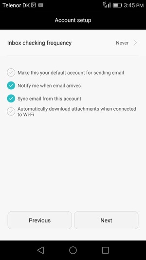 how to set up hotmail on android phone