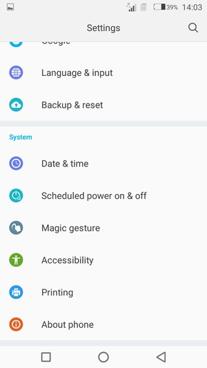 Update software - Tecno W4 - Android 6 0 - Device Guides