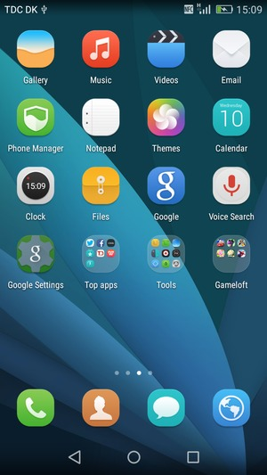 Set up POP3/IMAP email - Huawei P8lite - Android 5 0
