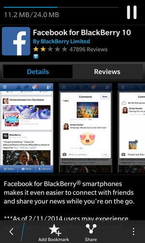 Install apps - BlackBerry BlackBerry OS - 10 3 - Device Guides