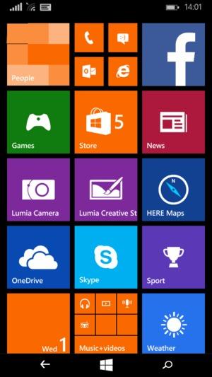 Import contacts - Microsoft Lumia 430 Dual SIM - Windows